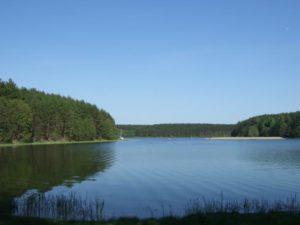 wczasy kaszuby nad jeziorem